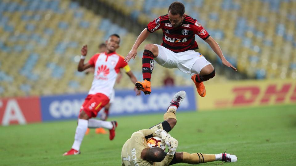 Everton Ribeiro Flamengo Santa Fé