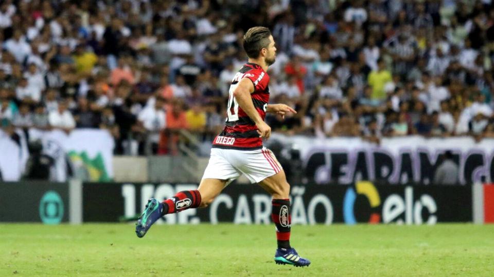 Diego Flamengo Ceará 2018