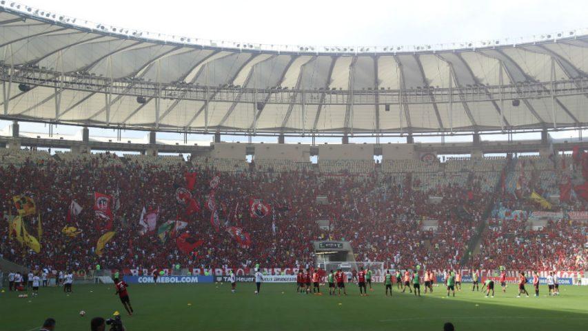 Flamengo Maracanã treino aberto 2018