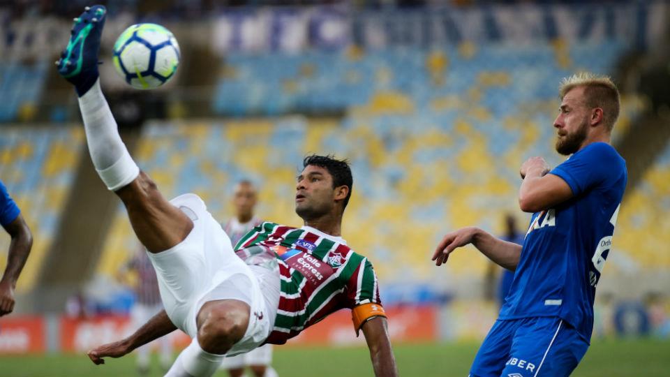 Gum Fluminense Cruzeiro Maracanã Brasileiro 2018