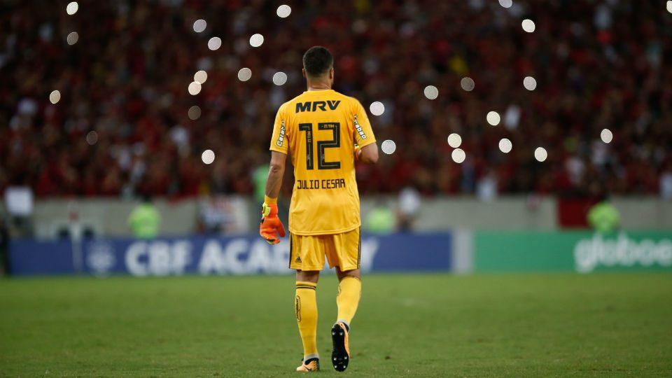 Julio Cesar despedida Flamengo Maracanã
