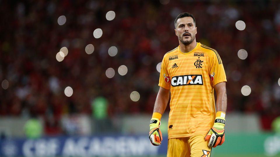 Julio Cesar Flamengo despedida aposentadoria