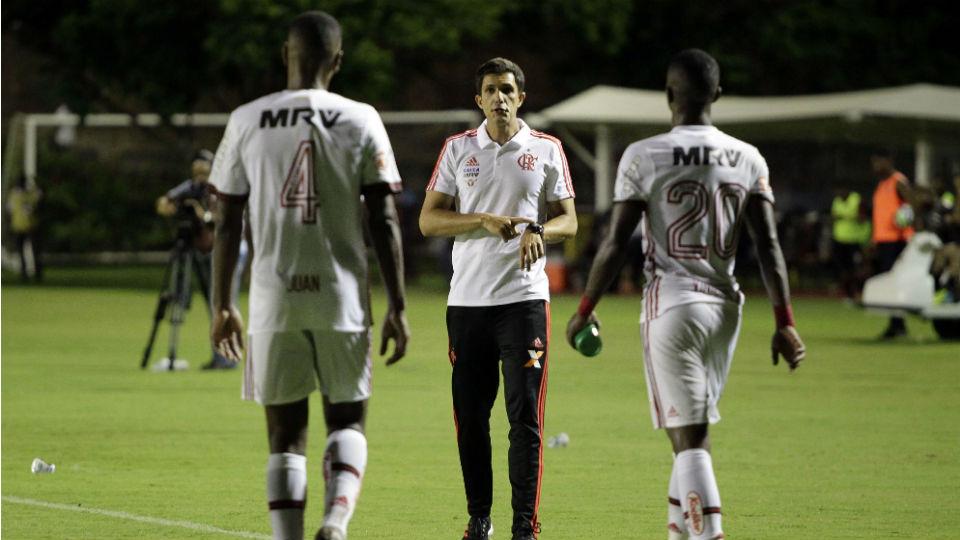 Barbieri estreia Flamengo Brasileiro 2018