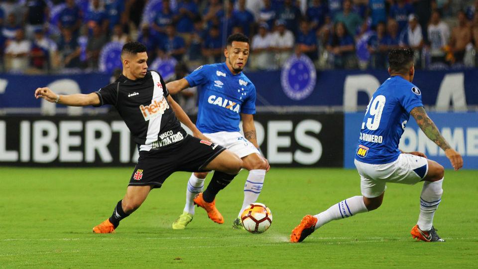 Paulinho Vasco Libertadores Mineirão Cruzeiro 2018