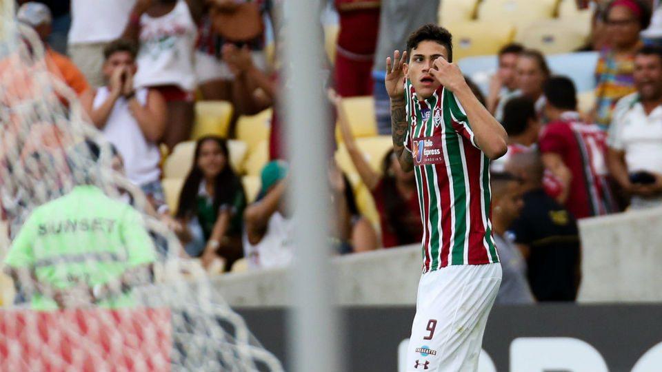 Fluminense Pedro Cruzeiro Maracanã 2018