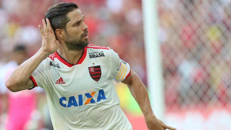 Diego Flamengo gol Maracanã Bahia 2018
