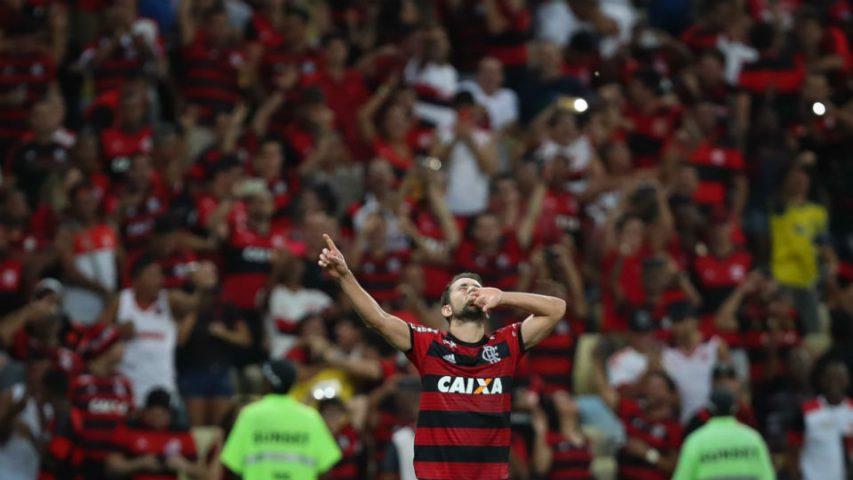 Everton Ribeiro Flamengo classificação Libertadores 2018