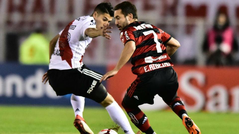 Everton Ribeiro Flamengo River Libertadores 2018