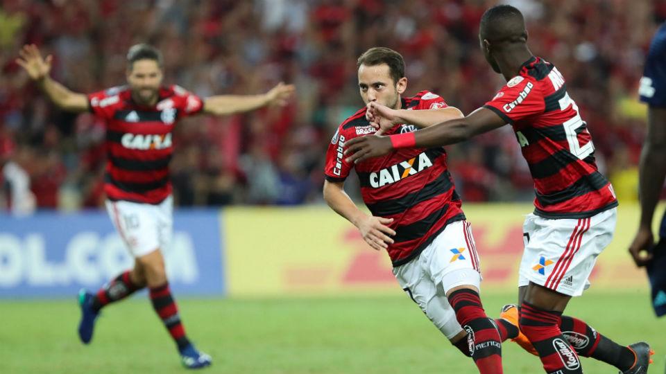 Everton Ribeiro Flamengo 2018 classificação oitavas