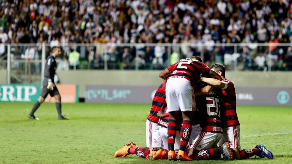 Flamengo gol Atlético-MG 2018