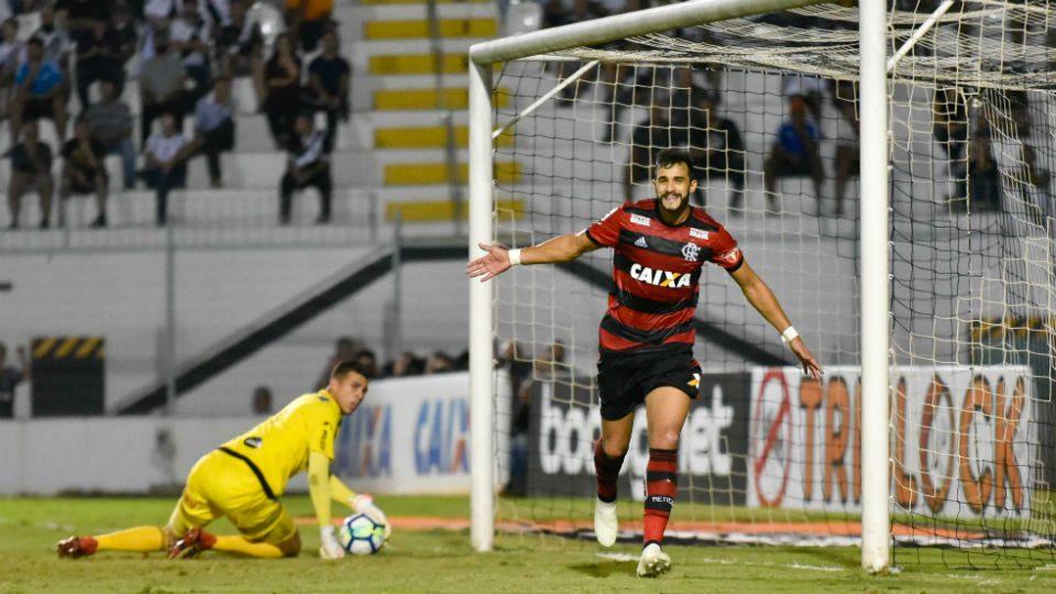 Henrique Dourado Flamengo gol