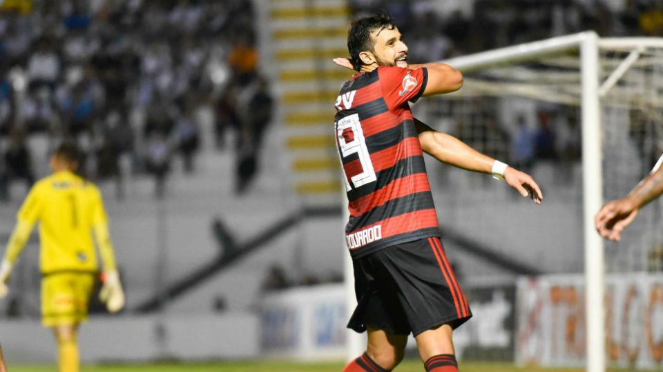 Henrique Dourado Flamengo ceifada