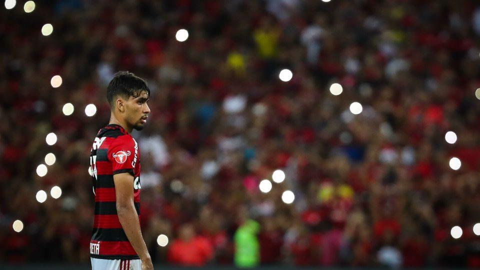 Lucas Paquetá Flamengo Maracanã 2018