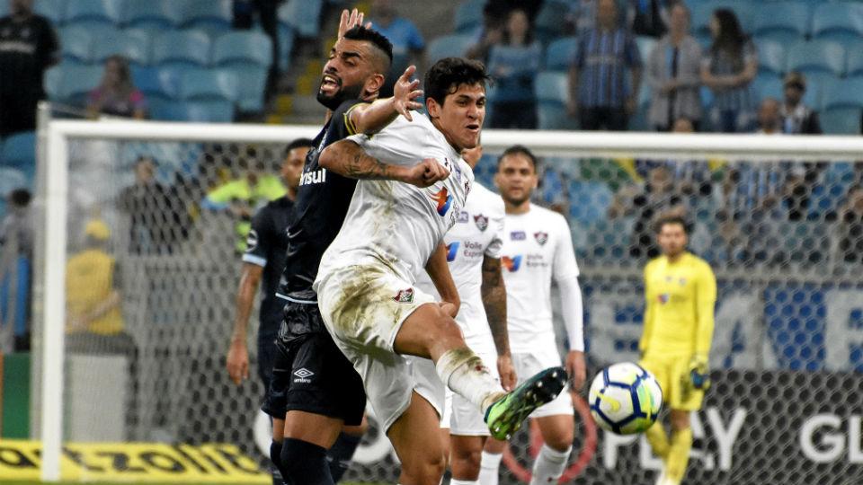 Fluminense Maicon Pedro Grêmio Brasileiro 2018
