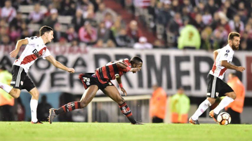 Vinicius Junior Flamengo River Libertadores 2018