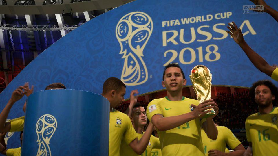 Brasil Copa do Mundo videogame EA Sports FIFA 18