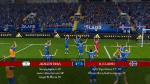 Islândia comemoração Copa do Mundo FIFA 18