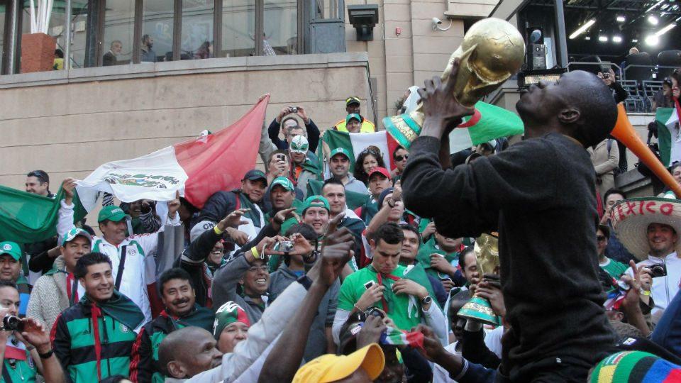 Copa 2010 Nelson Mandela Square
