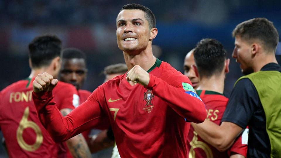 Cristian Ronaldo Copa do Mundo Portugal Espanha 2018
