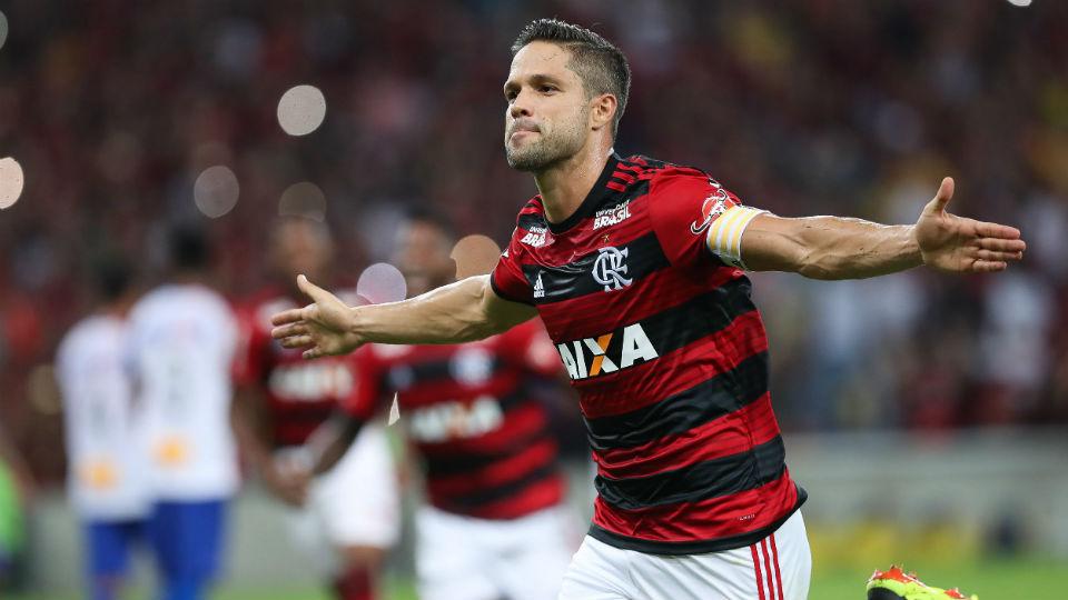 Diego Flamengo Maracanã gol 2018
