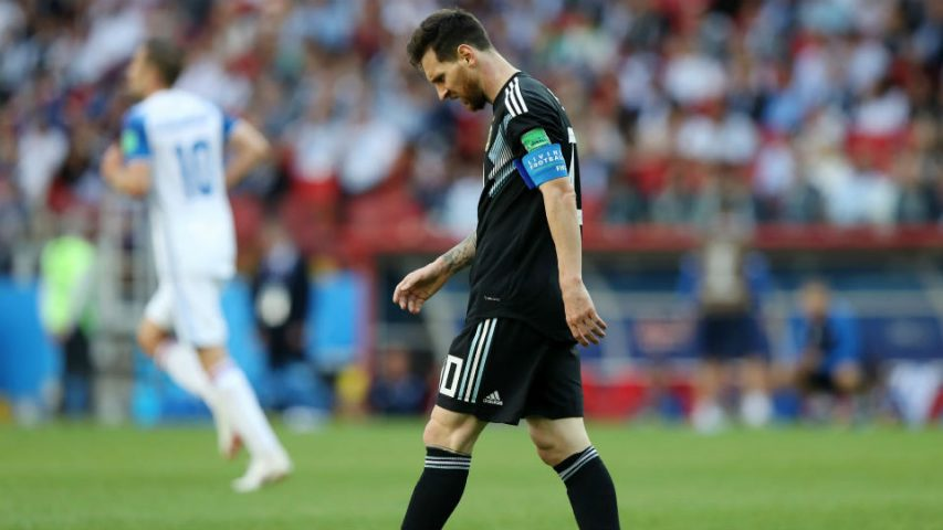 Messi estreia Copa 2018
