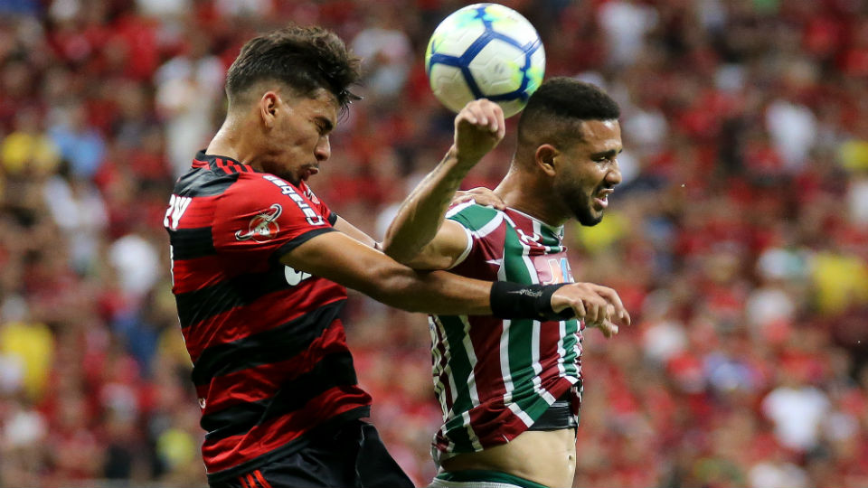 Fluminense Flamengo Fla-Flu João Carlos Paquetá