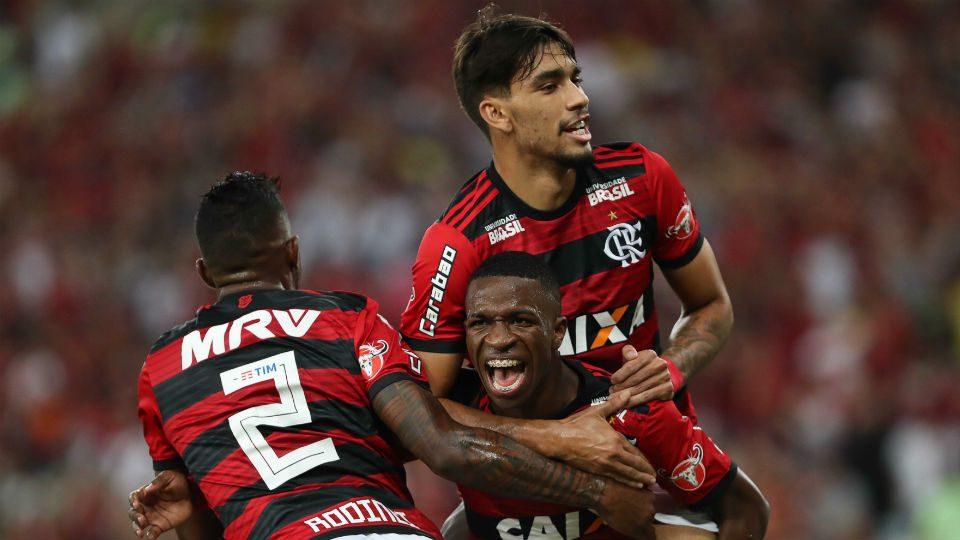 Vinicius Junior Flamengo Lucas Paquetá
