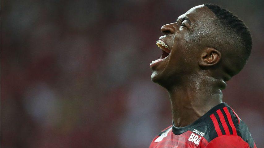 Vinicius Junior Flamengo despedida Maracanã 2018