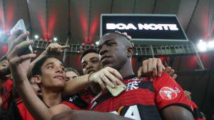Vinicius Junior Flamengo 2018 Maracanã