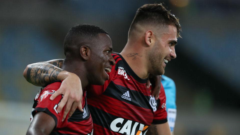 Vizeu Vinicius Junior Flamengo Maracanã Corinthians
