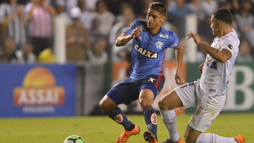 Cuellar Flamengo azul 2018