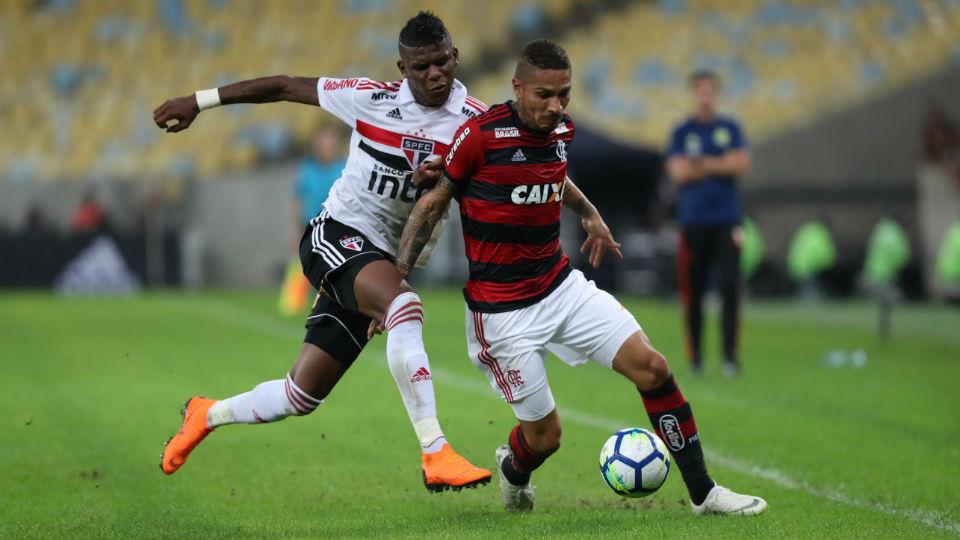 Guerrero Flamengo Maracanã 2018 São Paulo