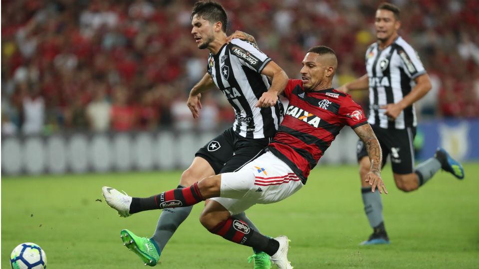 Guerrero Flamengo Botafogo 2018 Maracanã