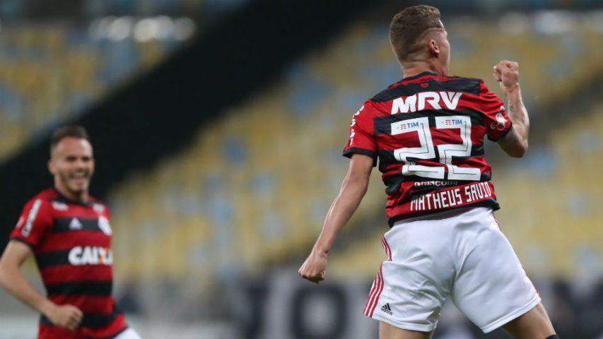 Matheus Sávio Flamengo gol 2018