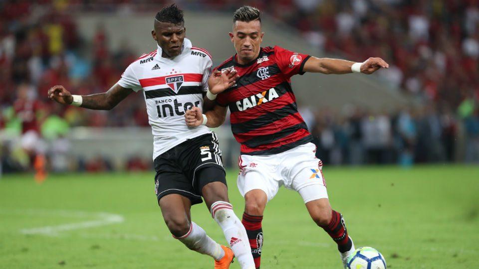 Uribe estreia Flamengo Maracanã 2018