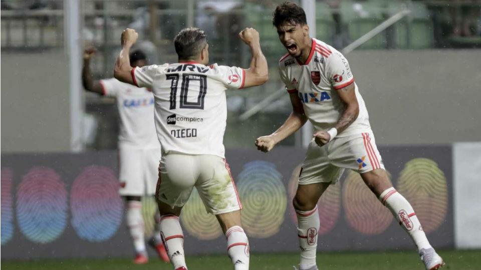 Paquetá Diego Flamengo América-MG 2018