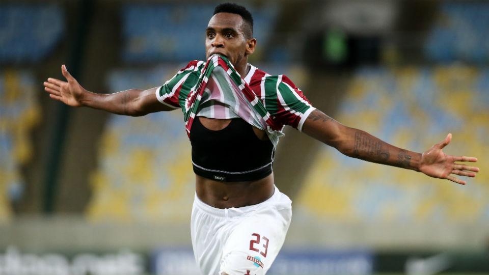 Digão Fluminense gol Defensor 2018 Maracanã