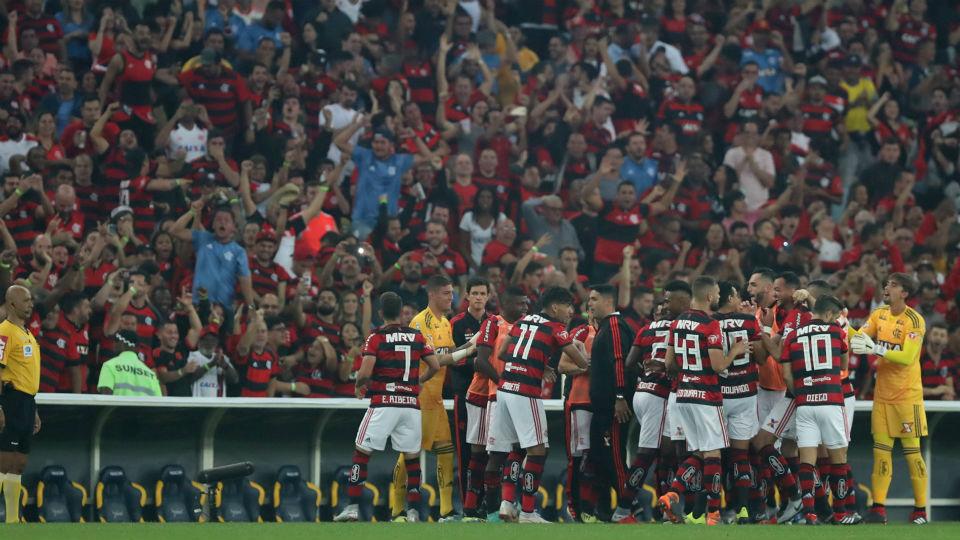 Flamengo gol torcida Everton Ribeiro Grêmio Copa do Brasil 2018