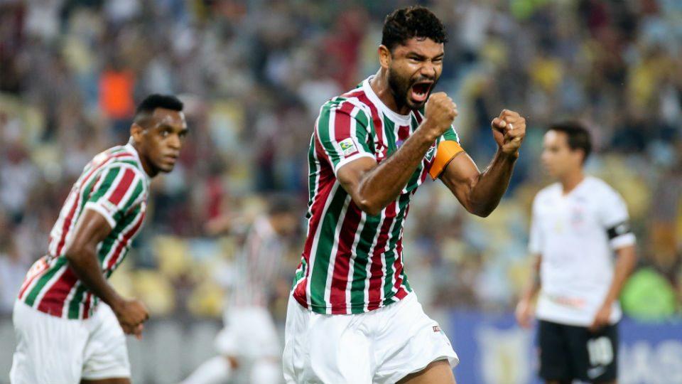 Gum Maracanã Fluminense gol Corinthians 2018