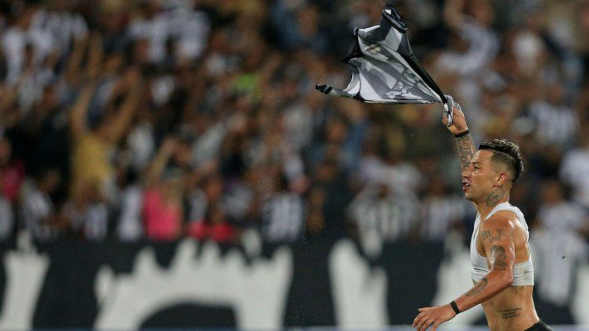 Leo Valencia Botafogo classificação Sul-Americana 2018