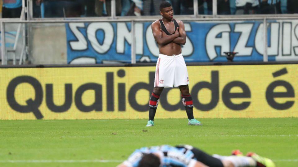 Lincoln Flamengo gol Grêmio Copa do Brasil 2018