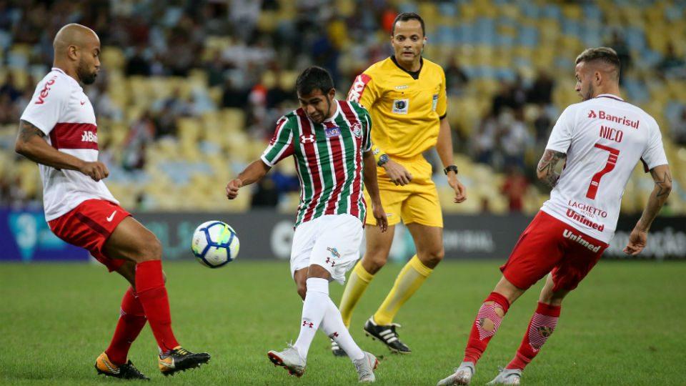 Sornoza Fluminense Maracanã 2018 Internacional