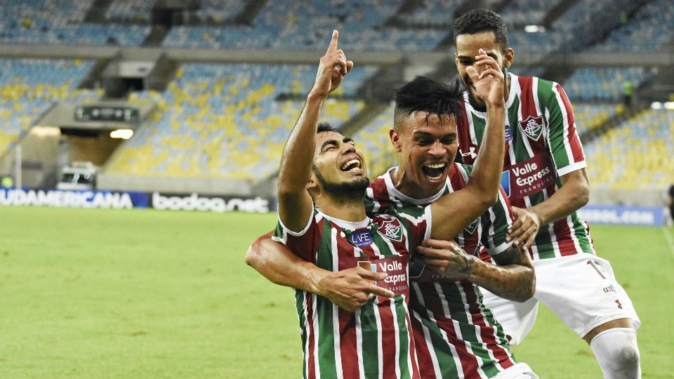 Sornoza Fluminense gol olímpico 2018 Defensor