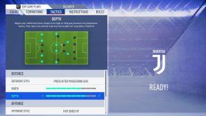 Taticas FIFA 19 tactics