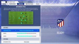 FIFA 19 táticas tactics