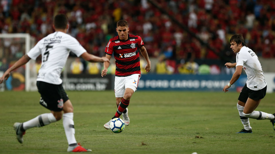 Cuellar Flamengo Maracanã Copa do Brasil 2018 Corinthians