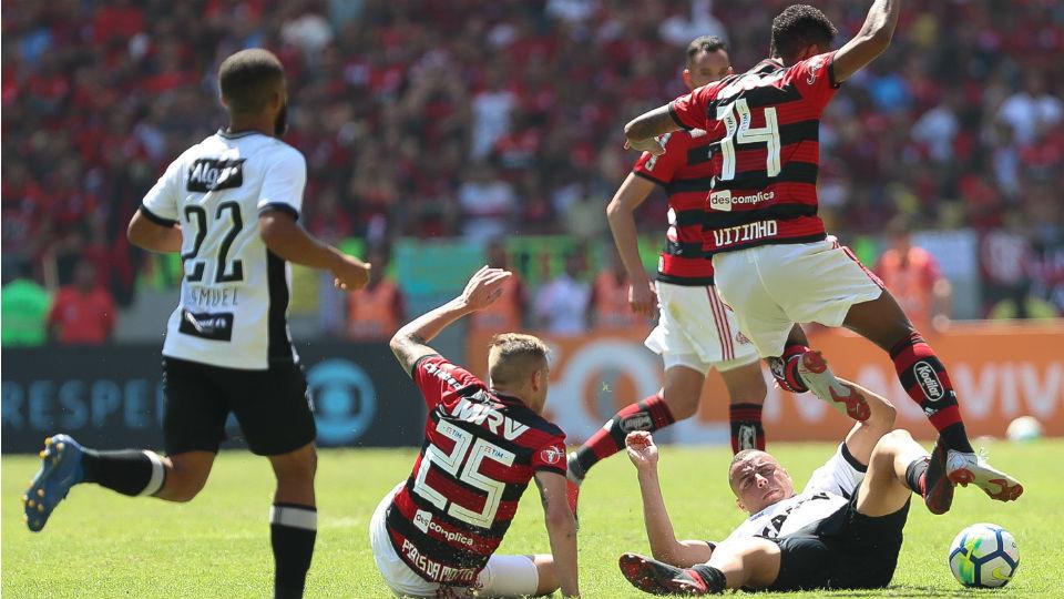 Piris da Motta Vitinho Flamengo Maracanã