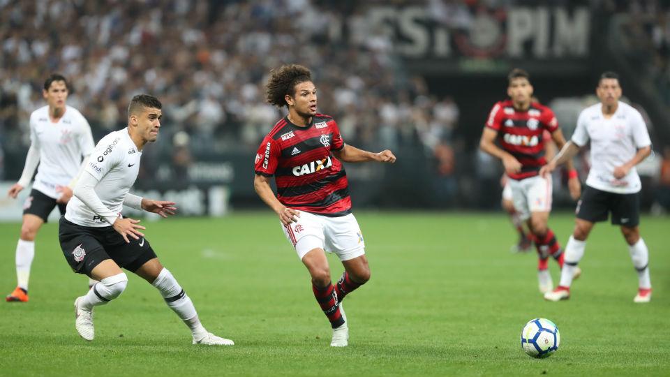 Willian Arão Flamengo 2018