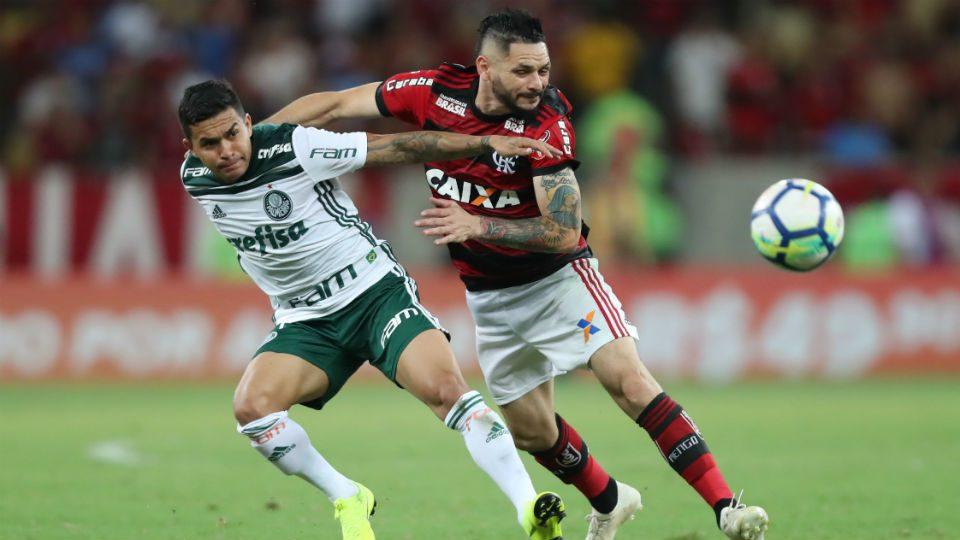 Dudu Pará Flamengo Palmeiras 2018