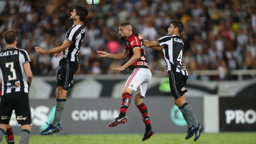 Léo Duarte Flamengo Botafogo 2018